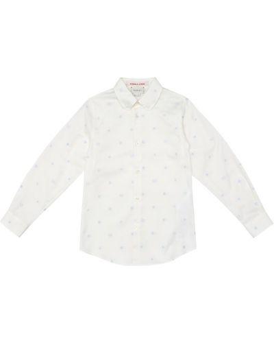 Koszula z haftem Gucci Kids