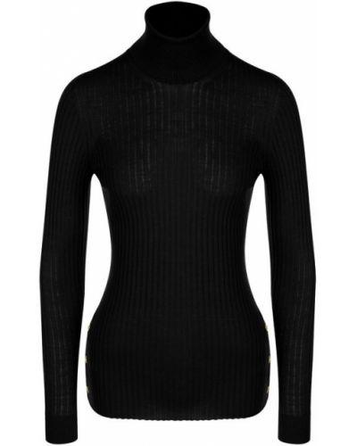 Водолазка черная однотонная Versace