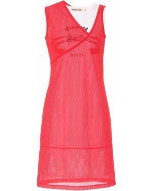 Платье мини сетчатое Helmut Lang