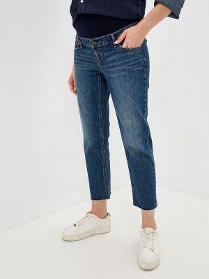 Синие прямые джинсы Gap Maternity