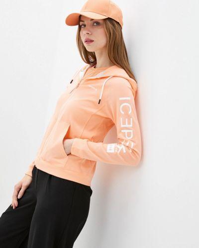 Оранжевая весенняя кофта Icepeak