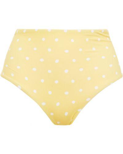 Żółty bikini Eberjey