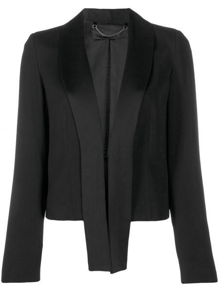 Черный пиджак с манжетами Federica Tosi