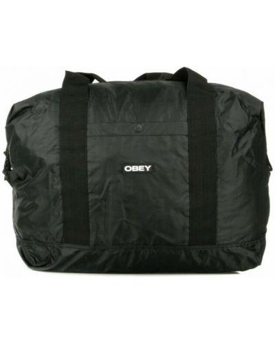 Czarna torba Obey