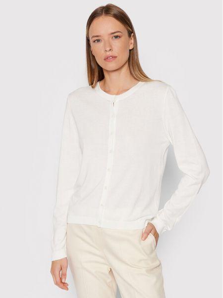 Kardigan - biały United Colors Of Benetton