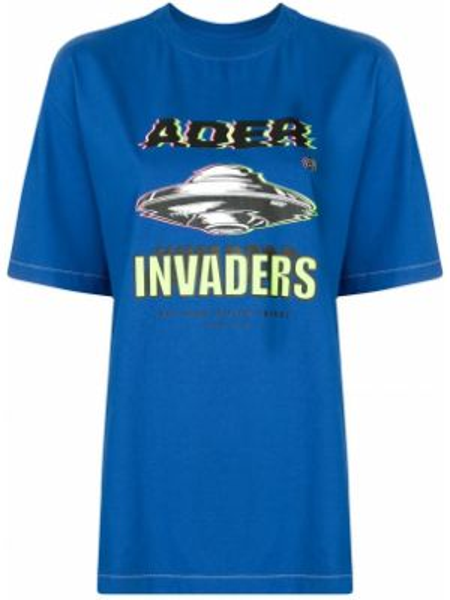 Koszula z krótkim rękawem z nadrukiem prosto Ader Error