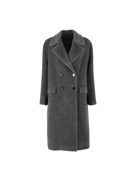 Szary płaszcz Tagliatore