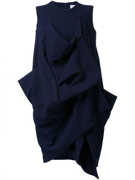 Sukienka midi bez rękawów - niebieska Enfold
