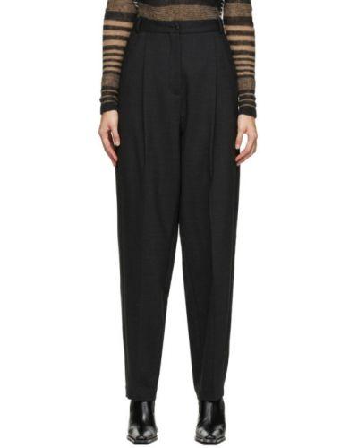 Брючные шерстяные брюки с карманами Acne Studios