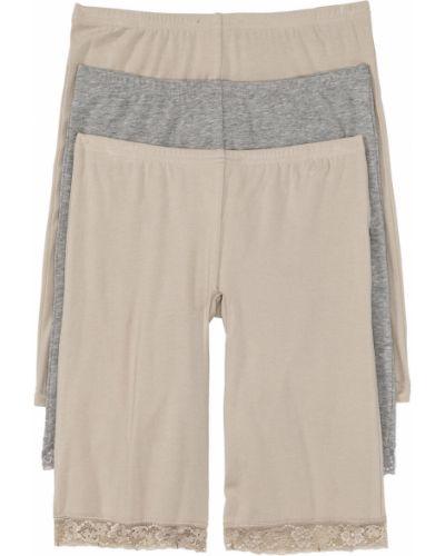 Кружевные трусы панталоны набор Bonprix