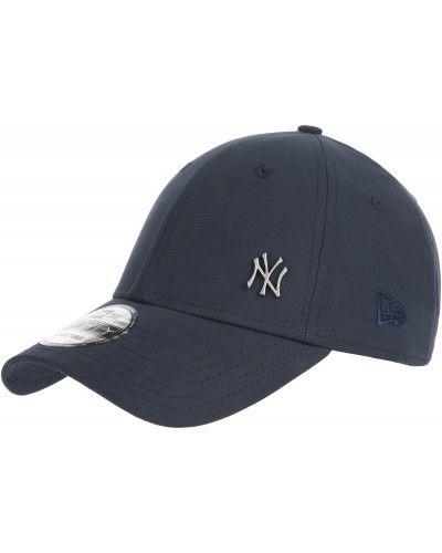 Хлопковая синяя бейсболка New Era