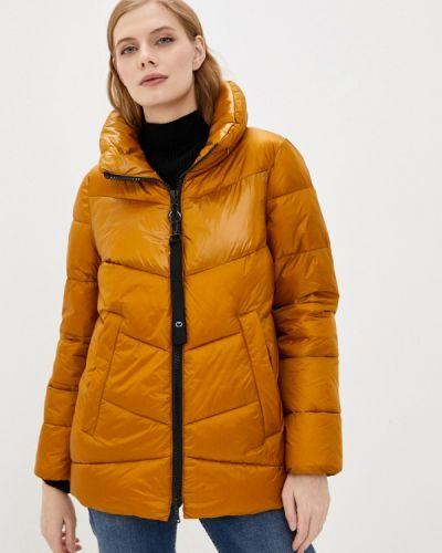 Утепленная желтая куртка Gerry Weber