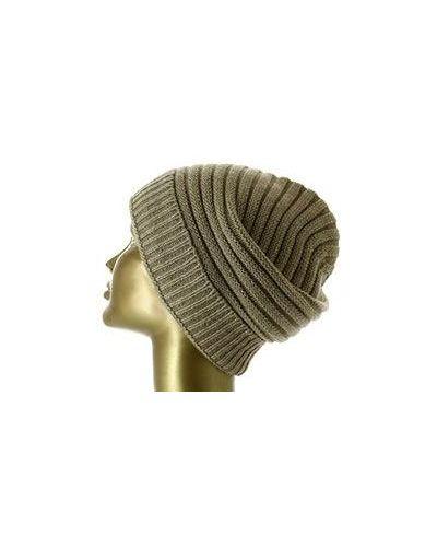 Бежевая шапка зимняя Colombo