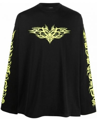 Czarna t-shirt Vetements