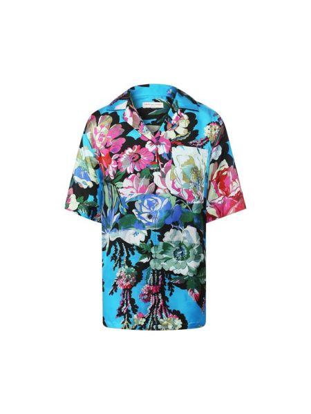 Рубашка из вискозы Dries Van Noten