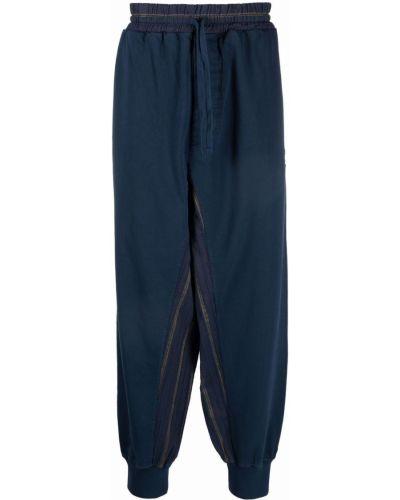 Синие брюки с логотипом Vivienne Westwood