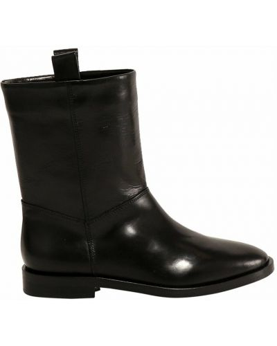 Czarne ankle boots Closed