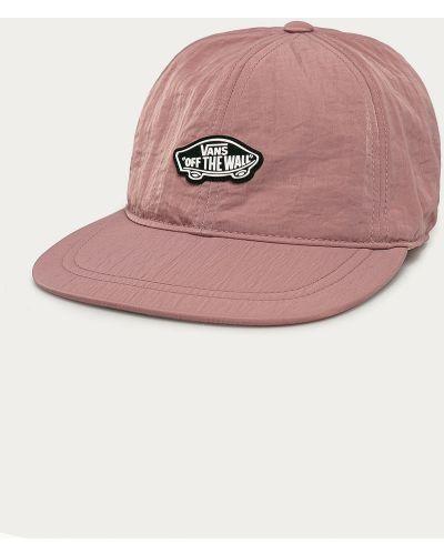 Różowy kapelusz materiałowy Vans