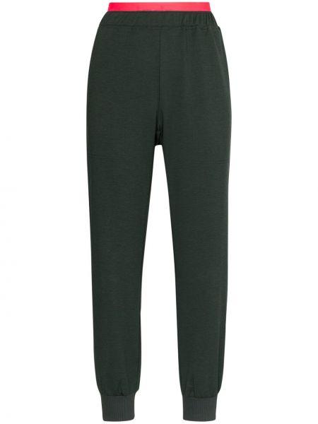 Spodnie z wysokim stanem - czarne Lndr