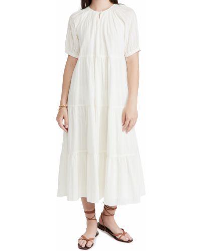 Платье с декольте Madewell