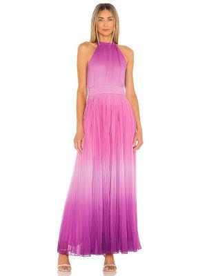 Шифоновое вечернее платье - фиолетовое Rococo Sand