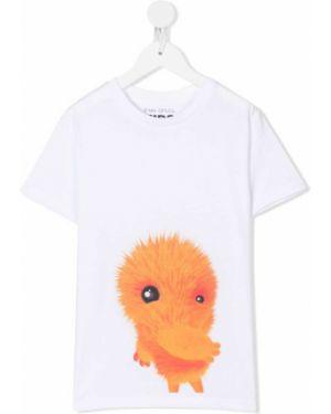 Оранжевая футболка Ioana Ciolacu Kids