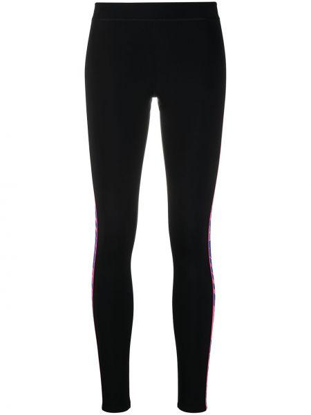 Z wysokim stanem czarny legginsy rozciągać Off-white