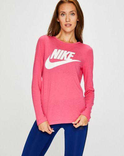 Блузка прямая розовая Nike Sportswear