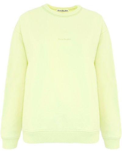 Bluza dresowa - żółta Acne Studios