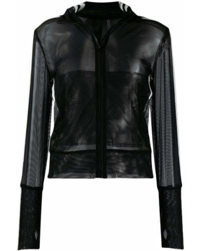 Куртка черная с нашивками Norma Kamali
