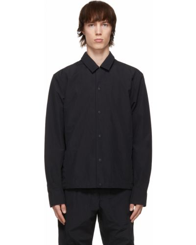 Koszula z długimi rękawami - czarna Rag & Bone