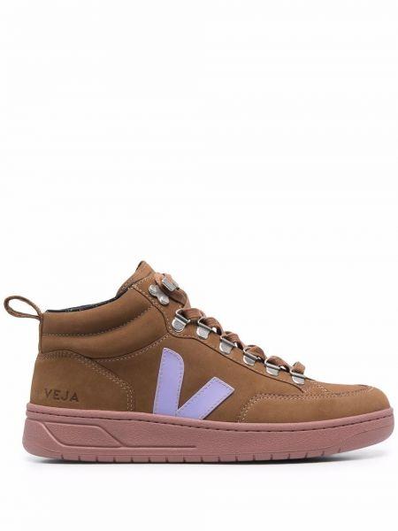Кожаные ботинки - коричневые Veja