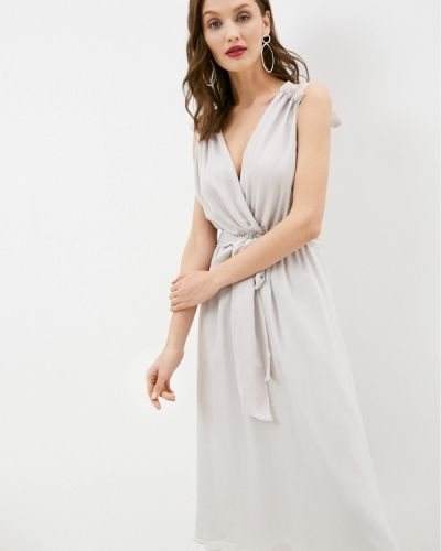 Вечернее платье - серое Seam
