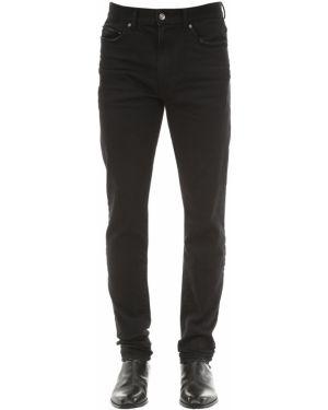 Czarne jeansy skorzane Htc Los Angeles