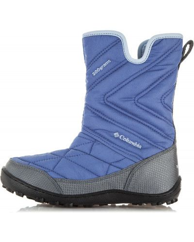 Ботинки на молнии фиолетовый Columbia