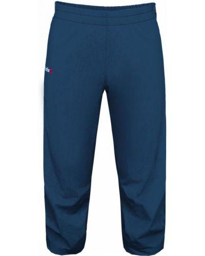 Синие спортивные шорты с поясом Red Fox