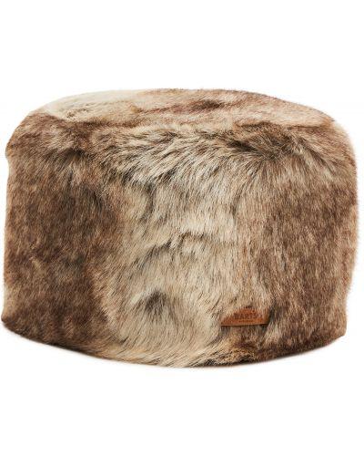 Brązowa czapka z akrylu Barts