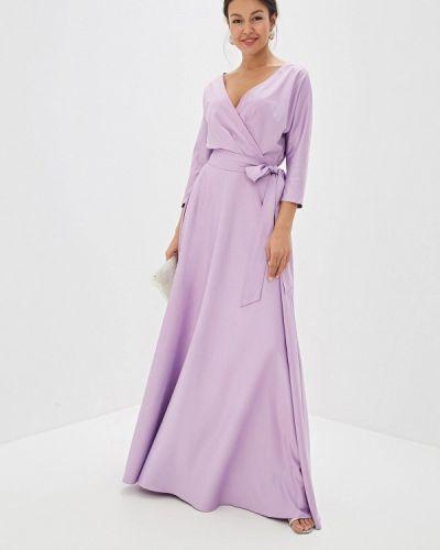 Вечернее платье фиолетовый Mazal