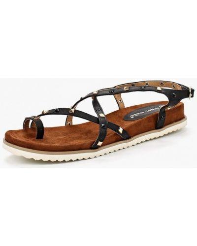 Черные сандалии Super Mode