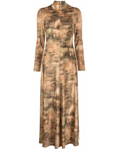 Платье макси длинное Rosetta Getty