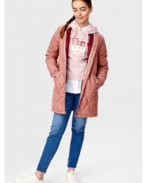 Утепленная куртка на молнии с карманами Ostin