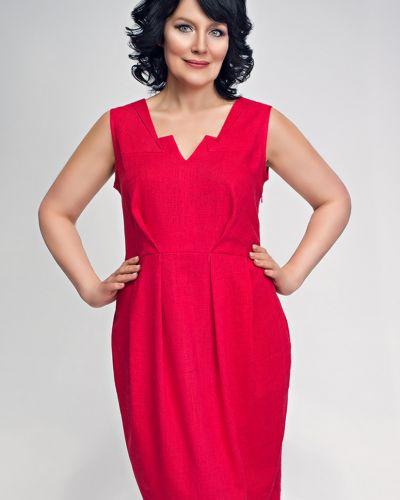 Платье на молнии из вискозы D`imma Fashion Studio
