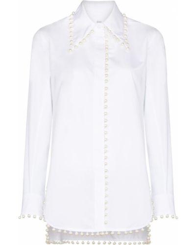Длинная рубашка - белая Rosie Assoulin