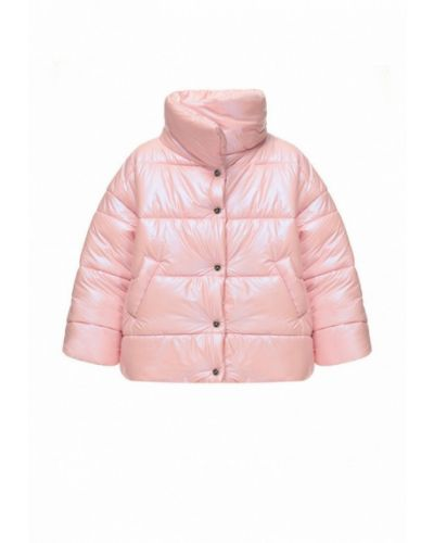 Розовая теплая куртка I-am