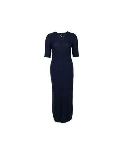 Платье синее Peserico
