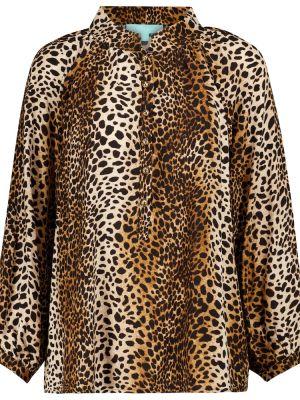 Блузка с принтом - коричневая Melissa Odabash