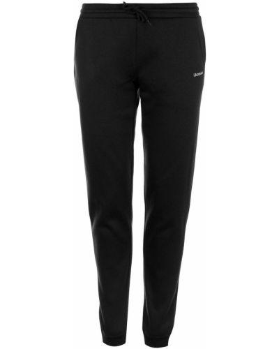 Czarne spodnie dresowe bawełniane La Gear