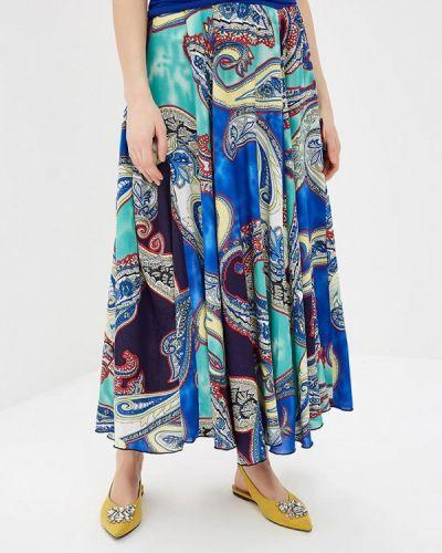 Синяя юбка весенняя Madam T