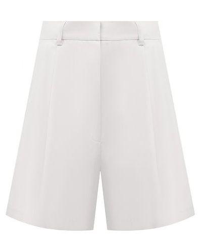Хлопковые шорты - белые Dries Van Noten