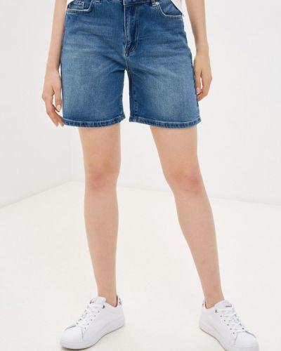 Синие турецкие джинсовые шорты Selected Femme